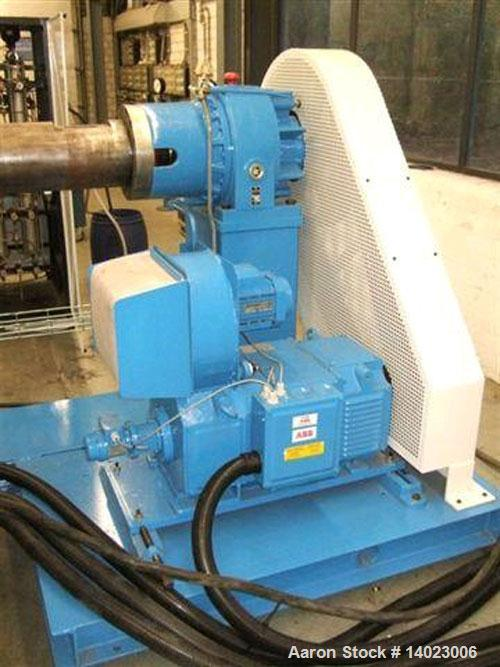 "Used- Battenfeld 1-75-30B single screw extruder, screw diameter 2.95"" (75 mm), L/D 30, capacity 440 lbs/h (200 kg/h), 89 HP/..."