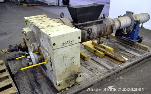 Used- Berstorff 140mm Single Screw Extruder