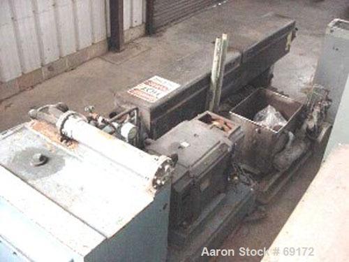 "Used- Black Clawson 4-1/2"" Single Screw Extruder"