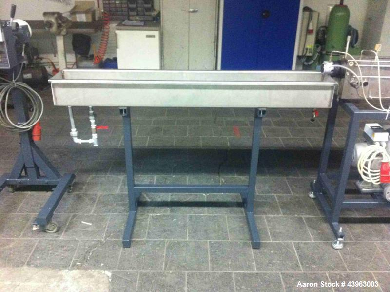 """Used-Brabender Lab Size Granulation Line comprised of (1) extruder 0.75"""" (19 mm) diameter, 40 L/D, air cooled and 4 hp/3 kW ..."""
