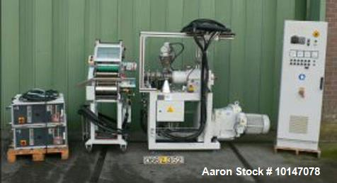 """Used-Buss Compounding Systems AG Single Screw Mixing Extruder """"Co-Kneader"""", model Eco 46P"""