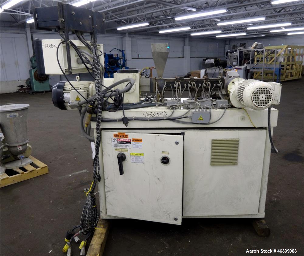 Used- Buss Model MKS 30-18D / E 40 Laboratory Ko-Kneader Extruder