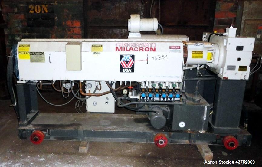 "Used- Cincinnati Milacron 2.5"" Apex Single Screw Extruder"