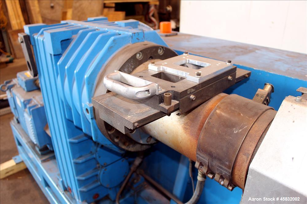 Used- Cincinnati Milacron CMS60-28GR Single Screw Extruder