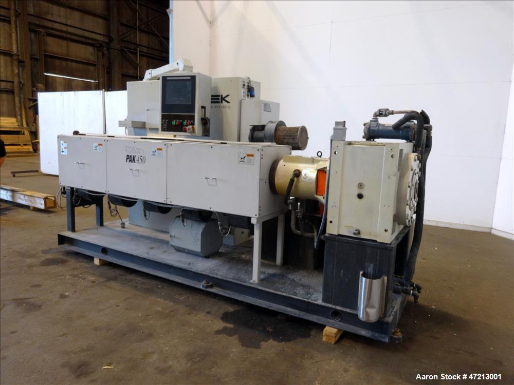 "Used- Milacron 4.5"" Single Screw Extruder"