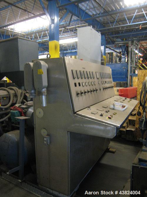 "Used-PAK Extruder, Model PAK-250, 2.5"" diameter.  With single control cabinet."