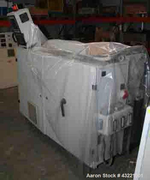 "Used-Cincinnati Proton 45-30G Single Screw Extruder, 1.77"" (45 mm) diameter, L/D 30, 86.7 hp/65 kW, output 397 lbs/hour (180..."