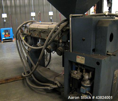 """Used-Cosmo Engineering Extruder, 2"""" diameter. With single control cabinet"""