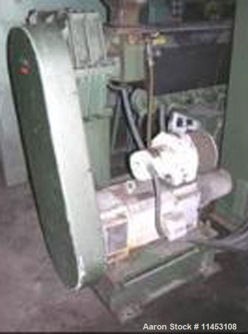 "Used-1.5"" Davis Standard Extruder, model 15IN20. 24:1 L/D, electrically heated, air cooled, jacketed feed section, 15 hp DC ..."