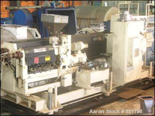 USED: Davis Standard co-extrusion system consisting of the following:(1) 165 mm Davis Standard extruder, 35:1 L/D, model 165...