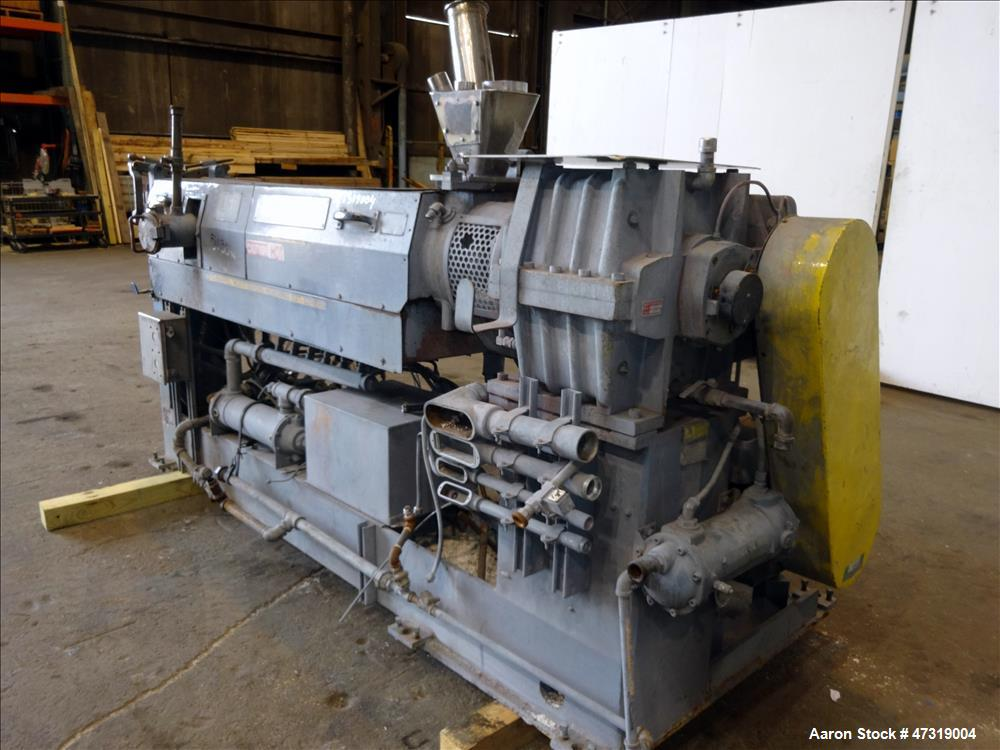 "Used- Davis Standard 2-1/2"" Single Screw Extruder, Model 25 IN 25H, 30:1 L/D rat"