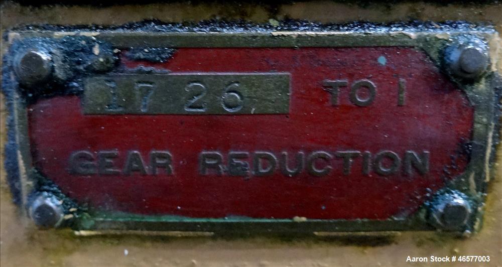 "Used- Davis Standard 2.5"" single screw extruder, model 25VT,"