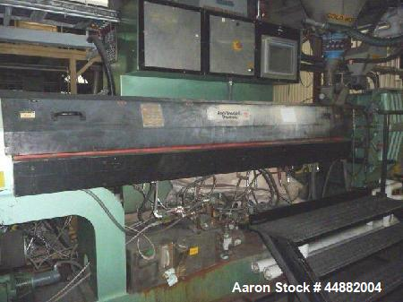 "Used- Davis Standard 4.5"" non-vented extruder"