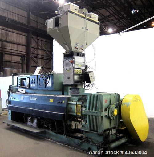 "Used- Davis Standard 6"" Single Screw Extruder, Model 60IN60TPIH. Approximately 24 to 1 L/D ratio. Electrically heated, water..."