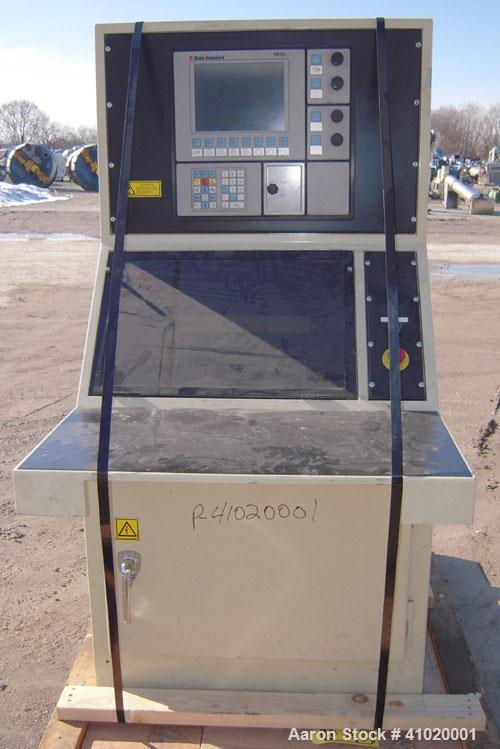 """Used- Davis Standard 3"""" Single Screw Extruder, Model 75MM75MV MFG 2002, Approximate 30:1 L/D ratio. Electrically heated, air..."""