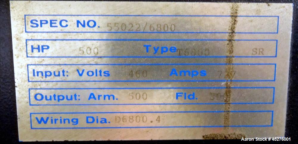 """Used: 8"""" Davis Standard Water Ring Pelletizing/Reclaim Line"""
