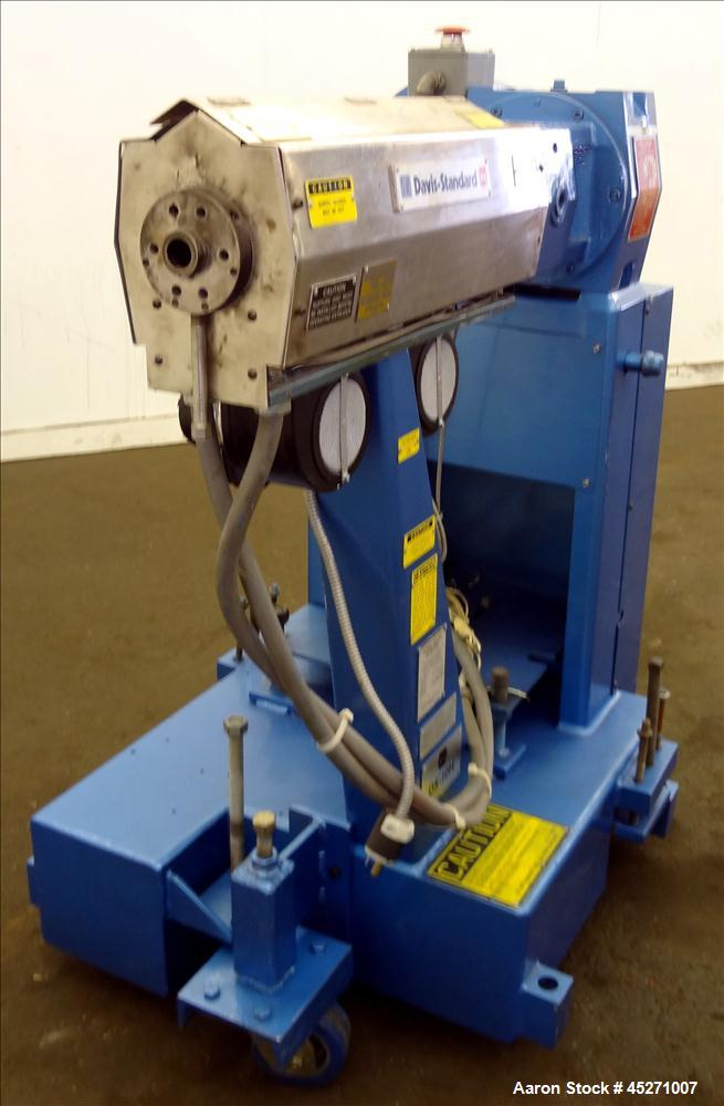 "Used- Davis Standard 1"" Single Screw Extruder, Model DS-10-HM"