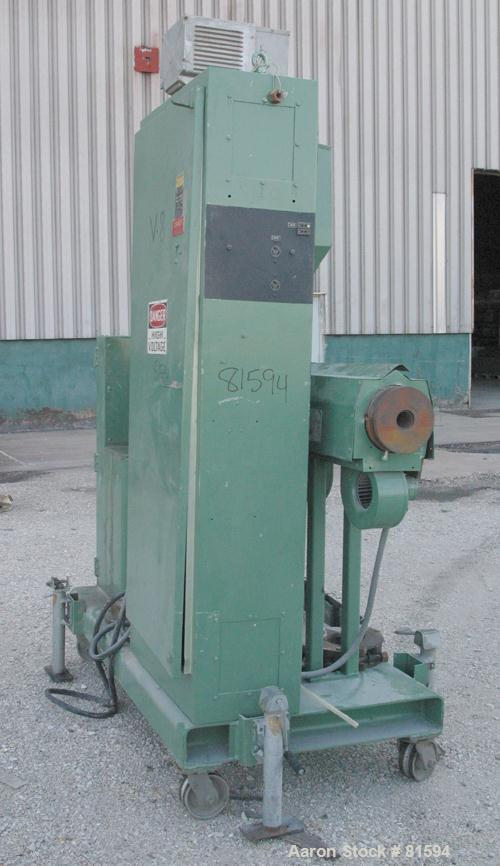 "USED: Davis Standard 2"" single screw extruder, model DS-20V8-24. 24:1 L/D ratio. Requires screw. Electrically heated, air co..."