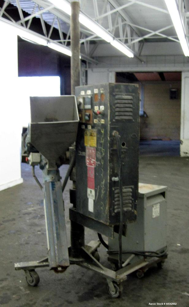 "Used- Davis Standard 1-1/4"" Pedestal Mounted Single Screw Extruder, Model DSPW-1"