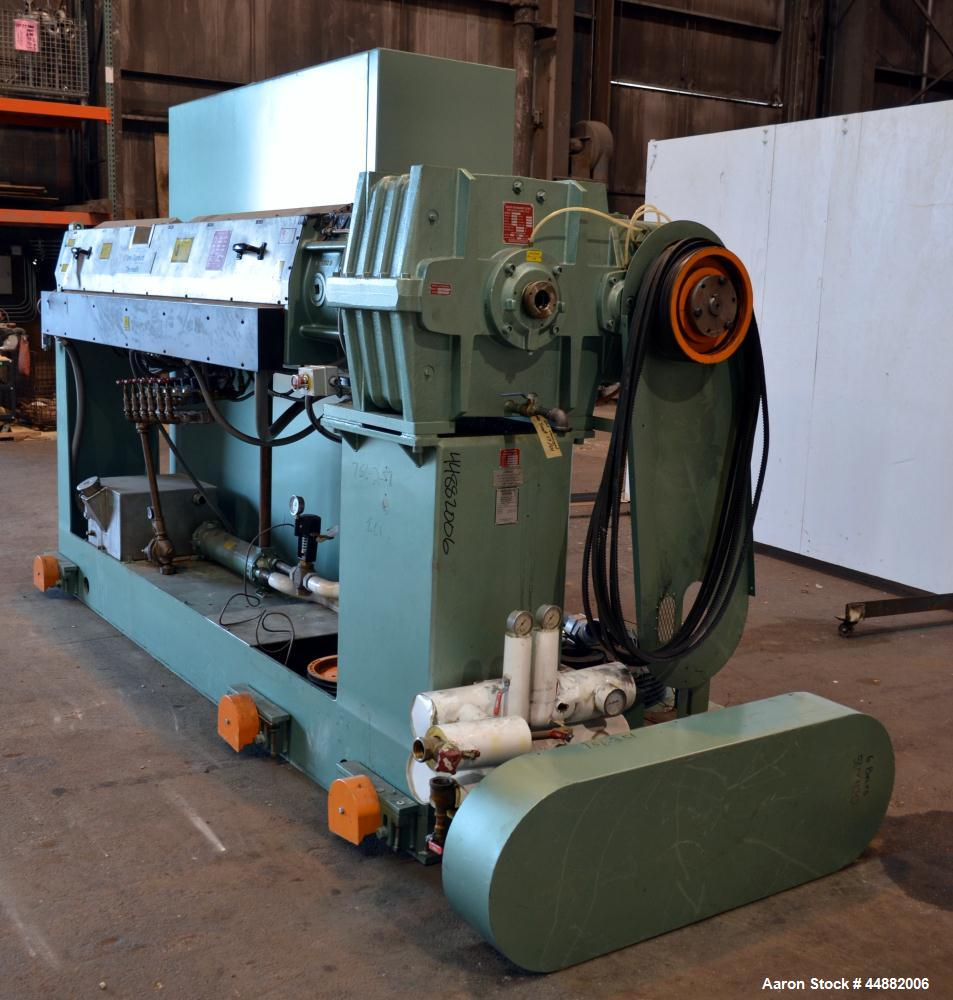 "Used- Davis Standard 3-1/2"" Single Screw Extruder, Model DSPW35IN35"
