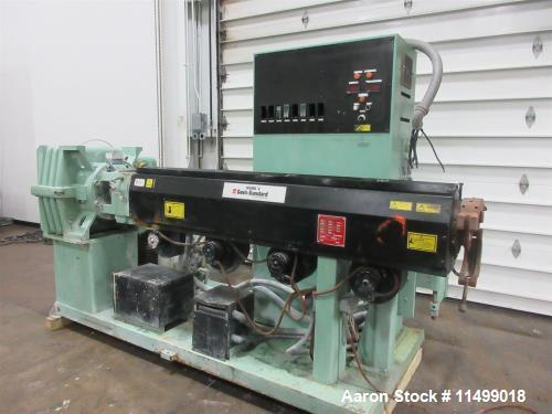 """Used- 3.5"""" Davis Standard Extruder, Mark V Series, Model MV35IN35"""