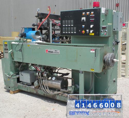 "Used- Davis Standard-NRM  3-1/2"" Single Screw Extruder, Model PM IV. 24 to 1 L/D ratio. Electrically heated, water cooled 4 ..."