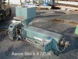"USED: Davis Standard-Filmaster 2"" lowboy air cooled extruder, 24:1 L/Dratio. Belt driven by a 20 hp motor and gearbox. Has h..."