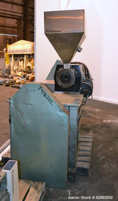 "Used- Deltaplast 2-1/2"" Single Screw Extruder, Model D65-25-24"