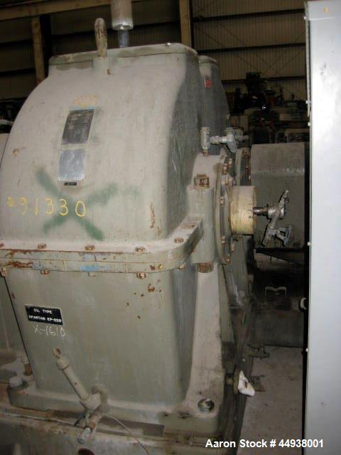 "Used- Egan 8"" Diameter Single Screw Extruder, Model 36T01.  Approximately 36 to 1 L/D ratio.  Electrically heated, water coo..."