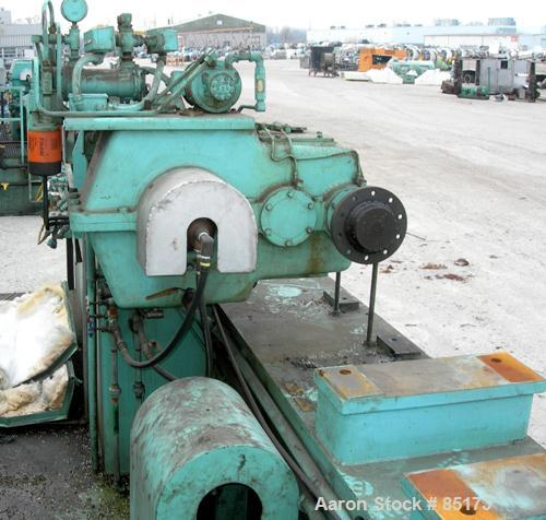 """Used- Egan 3-1/2"""" Single Screw Extruder, Model H3518HD. Approximate 26:1 L/D ratio. Electrically heated, water cooled 6 zone..."""