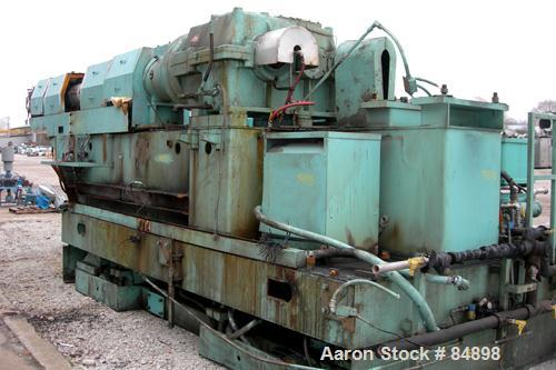 "Used- Egan 6"" Single Screw Extruder, Model H6026D. Approximate 26:1 L/D ratio. Electrically heated, water cooled 8 zone non-..."
