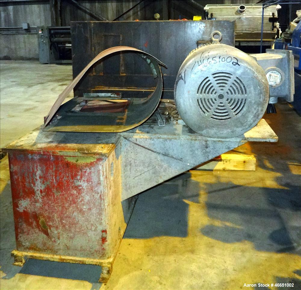 """Used- Egan Machinery 6"""" Single Screw Extruder. Approximate 22 to 1 L/D ratio, electrically heated, water cooled 7 zone non-v..."""