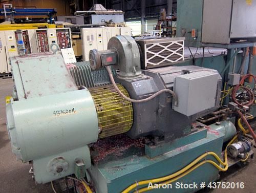 "Used- Gloucester Engineering 6"" Single Screw Extruder, Model 266-001"