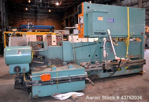 "Used- Gloucester Engineering 6"" Single Screw Extruder, Model 266-001. Approximately 24 to 1 L/D ratio. Electrically heated, ..."