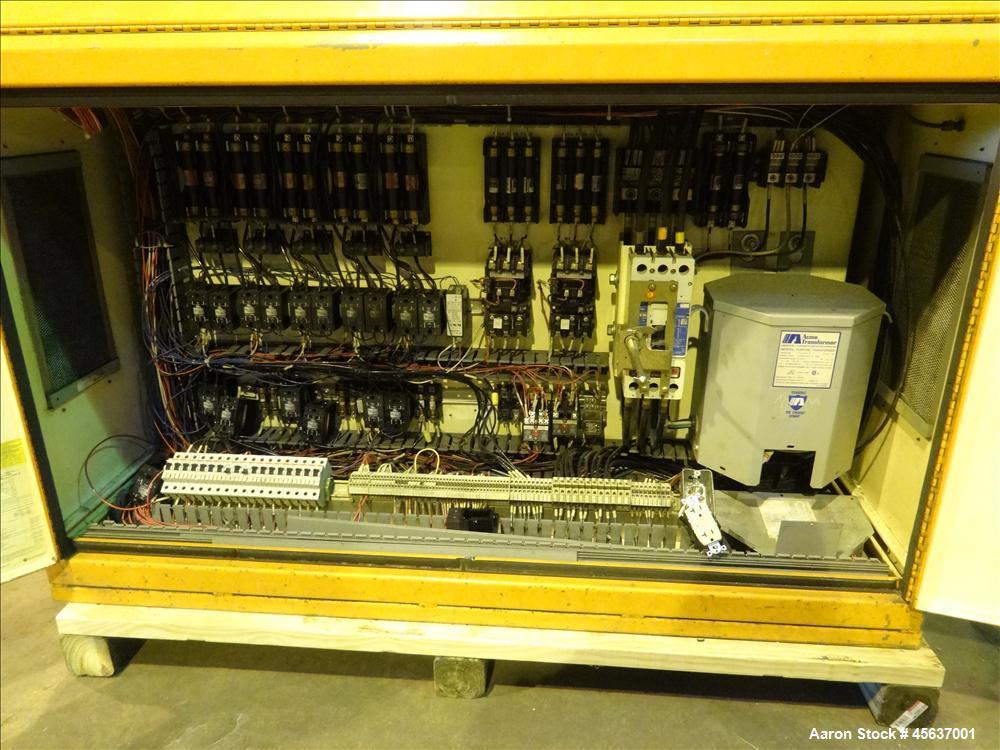 "Used- Graham 6"" Diameter Single Screw Extruder."
