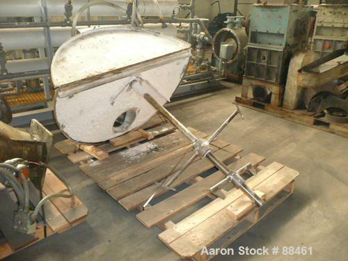 """USED: Hartig 8"""" single screw extruder. Approximately 32:1 L/D ratio. Electrically heated, water cooled, non-vented barrel. F..."""