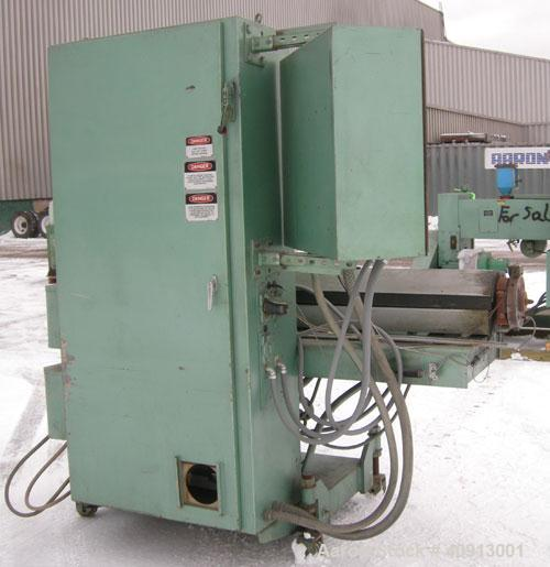 "Used- HPM 2"" Single Screw Extruder, Model 2.0TMC24. Approximate 24:1 L/D ratio.  Electrically heated, air cooled, 3 zone non..."