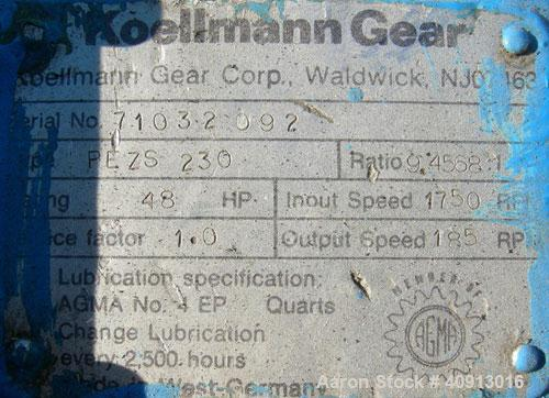 "Used- HPM 2"" Single Screw Extruder, Model 2.0TMC24"