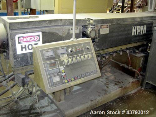 "Used- HPM 3-1/2"" Single Screw Extruder, Model 3.5 TMC"