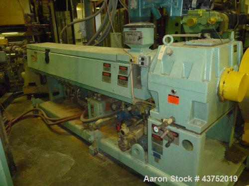 "Used- HPM 3-1/2"" Single Screw Extruder"