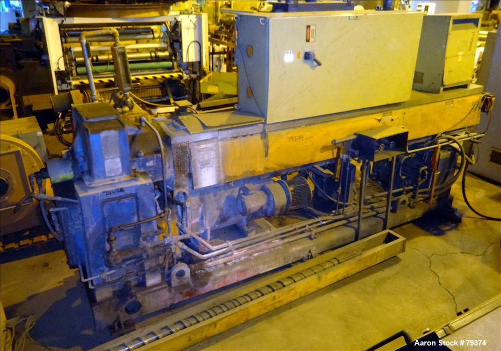 "Used- HPM 3.5"" Single Screw Extruder"