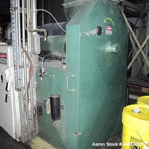 "Used- Approximately 3"" Diameter Hydreclaim Side Fed Film Reprocessing Extruder"