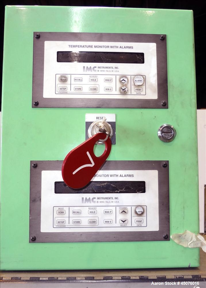 "Used- Johnson Plastics Machinery 4.5"" Single Screw Extruder"