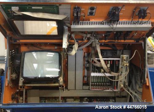 """Used- Krauss Maffei KME 1-90-30B Single Screw Extruder. 3.54"""" (90 mm) Screw, L/D 30. Maximum screw speed 132 rpm. (4) Barrel..."""
