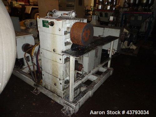 "Used- Macroplast Extrusion Tecnology 3"" extruder, model ME-2-45026A1S-080-AC200V5"