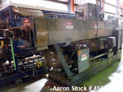 "Used- Graham 4.5"" Single Screw Extruder. 24 to 1 L/D. 6 Zone non-vented. Has electrically heated, water cooled barrel. Extru..."