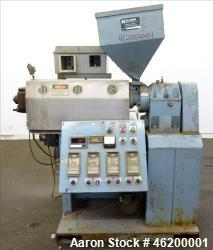 "Used- Killion 1-1/2"" Single Screw Extruder"
