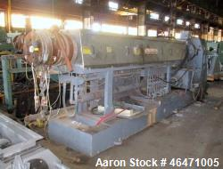Used- OMV / Cincinnati Milacron 120 MM Single Screw Extruder