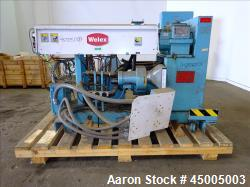 "Used- Welex 2"" Single Screw Extruder, Model 200 24:1."
