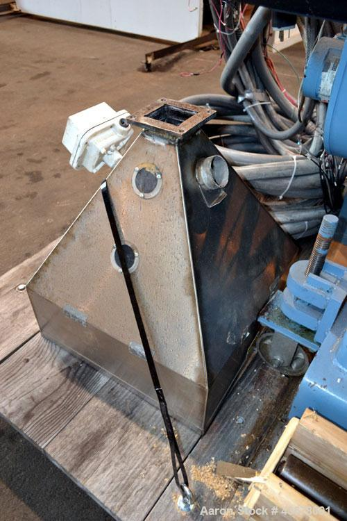 """Used- Merritt Davis 3-1/2"""" Single Screw, Model A/C MX R.H. Approximate 24 to 1 L/D ratio. Electrically heated, air cooled 5 ..."""